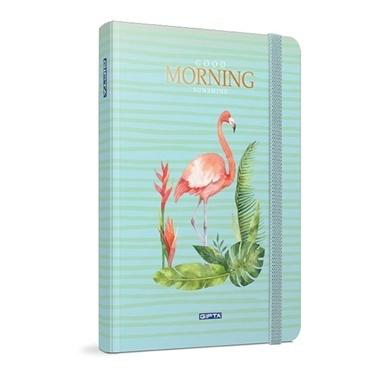 Gıpta Morning 13*21 Çizgili 120 Yaprak Renkli
